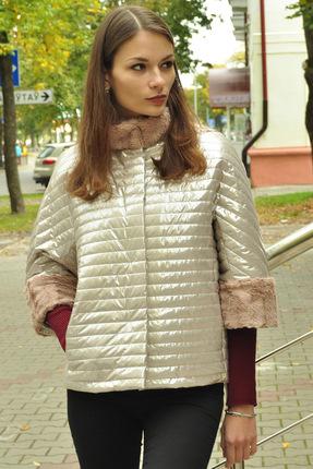 Куртка Миа Мода 945-1 бежевые тона Миа Мода
