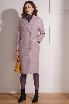 Купить Пальто Prestige 3477/1 сиреневый, Пальто, 3477/1, сиреневый, ПЭ 75%+Шерсть 25%, Мультисезон