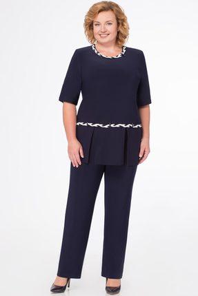Комплект брючный Svetlana Style 1079 темно-синий