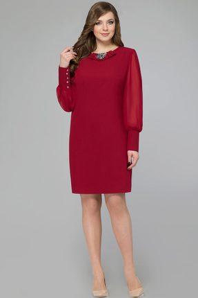 Купить Платье Svetlana Style 1071 бордо, Платья, 1071, бордо, ПЭ 71%+Вискоза 23%+Спандекс 6%, Мультисезон