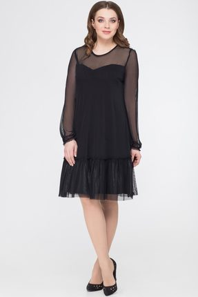 Купить Платье Svetlana Style 1050 черный, Платья, 1050, черный, ПЭ 100%, Мультисезон