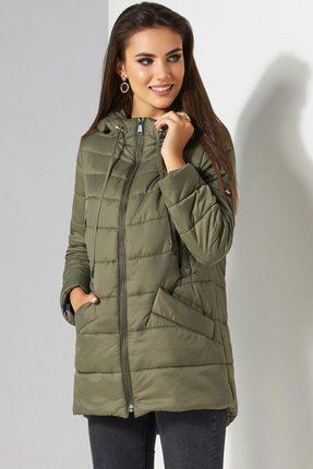 Куртка Lissana 3504 хаки Lissana