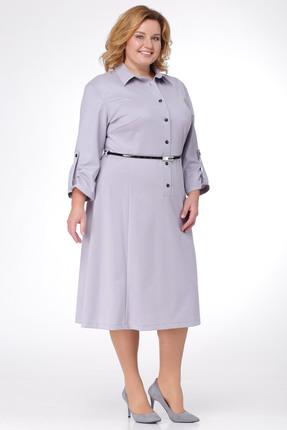 Купить Платье Michel Chic 655 серый, Платья, 655, серый, Состав: 70% полиэстер, 30% вискоза, Мультисезон