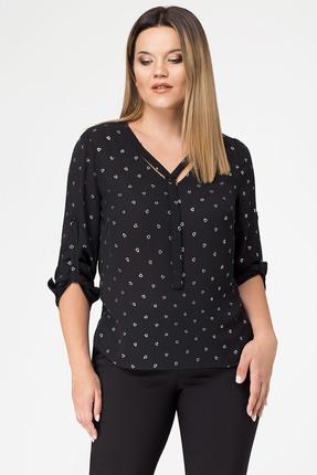 Купить Блузка Panda 420440 черный, Блузки, 420440, черный, полиэстер 100%, Мультисезон