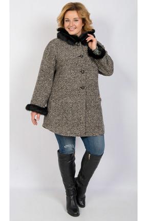 Пальто TricoTex Style 1774 бежевые тона