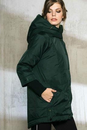 Купить Куртка Anna Majewska 1053 темно-зеленый, Куртки, 1053, темно-зеленый, ПЭ-100%, Зима
