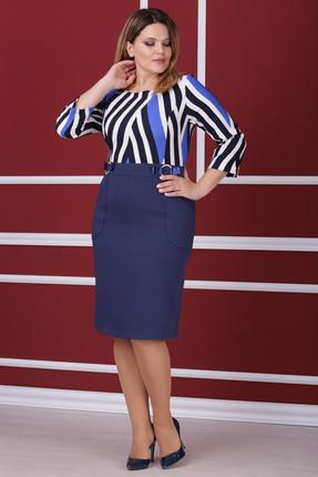 Купить Платье Michel Chic 911 василек, Платья, 911, василек, Состав : 96% полиэстер, 4% спандекс, Мультисезон
