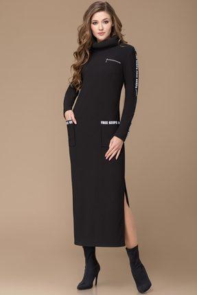 Купить Платье Svetlana Style 1011 черный, Платья, 1011, черный, ПЭ 90%+Спандекс 10%, Мультисезон