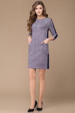 Купить Платье Svetlana Style 1136 серый, Платья, 1136, серый, ПЭ 95%+Спандекс 5%, Мультисезон