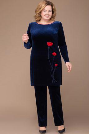 Комплект брючный Svetlana Style 1138 темно-синий