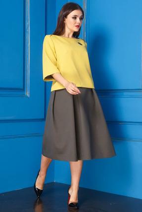 Комплект юбочный Anastasia 233 желтый