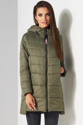 Купить Куртка Lissana 3512 хаки, Куртки, 3512, хаки, ПЭ 100%, Мультисезон