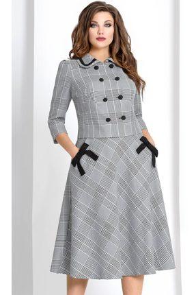 Купить Комплект юбочный Vittoria Queen 4463/3 черно-белый, Юбочные, 4463/3, черно-белый, полиэстер 100%, Мультисезон