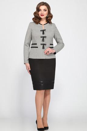Комплект юбочный Matini 1623 серый с черным