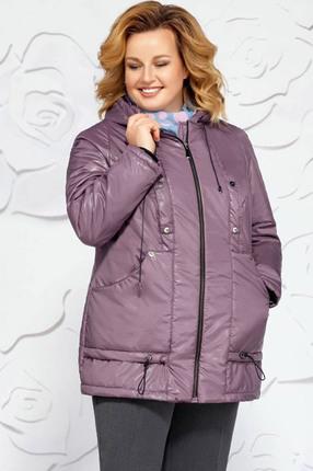 Куртка Ivelta plus 873 сиреневые тона Ivelta plus