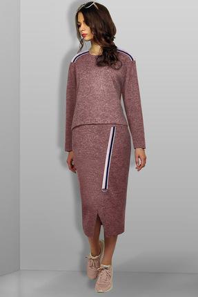 Купить со скидкой Комплект юбочный Миа Мода 961-1 розовый