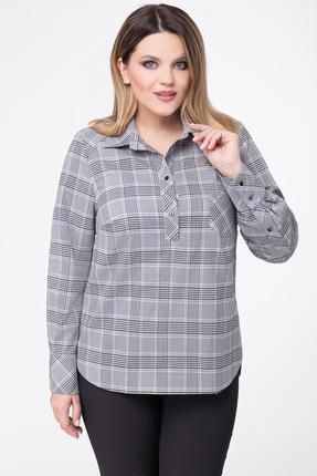 Купить со скидкой Рубашка Дали 5354 серый с оливой