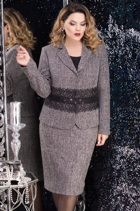 Комплект юбочный LeNata 31950 серый