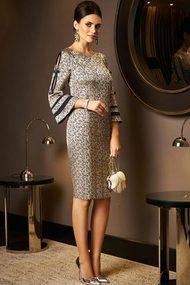 Платье Lissana 3536 золотой