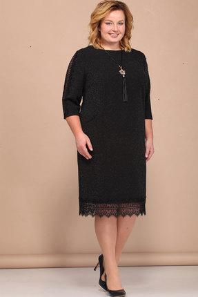 Купить Платье Bonna Image 382 чёрный, Платья, 382, чёрный, 62% Вискоза, 33% ПЭ, 5% Спандекс, Мультисезон