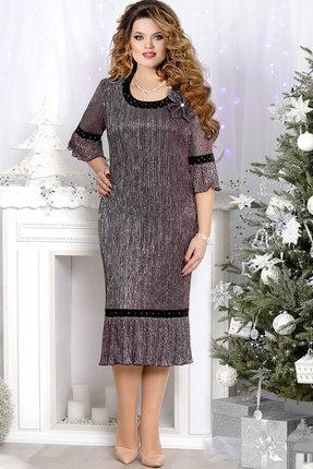 Купить Платье Mira Fashion 4530 сиреневый, Платья, 4530, сиреневый, ПЭ - 100%, Мультисезон