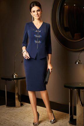 Комплект юбочный Lissana 3534 синий