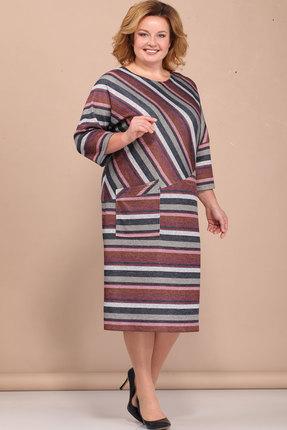 Купить Платье Bonna Image 320 мультиколор, Платья, 320, мультиколор, 62% Вискоза, 34% ПЭ, 4% Спандекс, Мультисезон