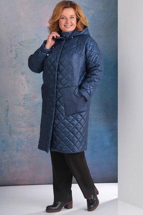 Пальто Golden Valley 7095-1 синий