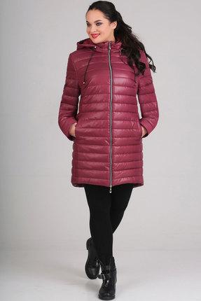 Купить со скидкой Куртка Асолия 3012 бордовый