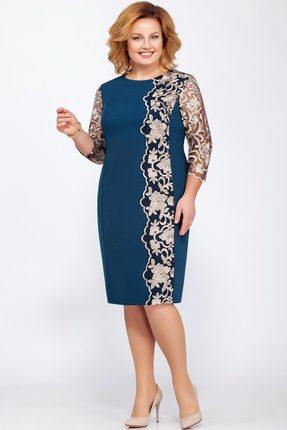 Купить Платье LaKona 1180 морская волна , Платья, 1180, морская волна , ПЭ 75%+Вискоза 20%+Спандекс 5%, Мультисезон