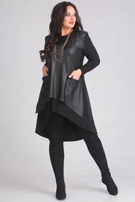Туника Andrea Style 00119 черный