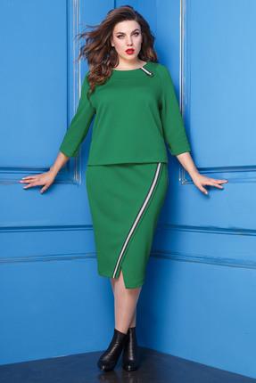 Комплект юбочный Anastasia 238 зеленый