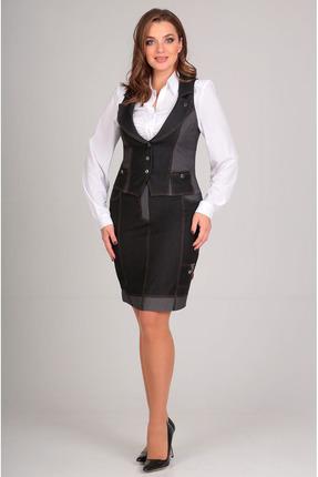 Комплект юбочный Таир-Гранд 1070 черный