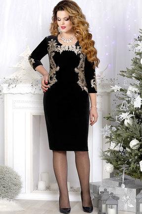 Купить Платье Mira Fashion 4361-2 чёрный+золото, Платья, 4361-2, чёрный+золото, ПЭ - 64%; Спандекс - 2%; Вискоза - 34%, Мультисезон