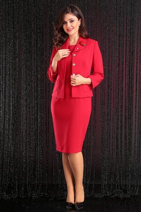 Купить со скидкой Комплект плательный Мода-Юрс 2370 красные тона