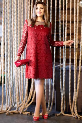 Купить Платье Мублиз 299 красный, Вечерние платья, 299, красный, пэ 95%, спандекс 5%, Мультисезон