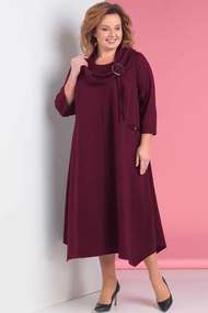 Платье Новелла Шарм 3099-3 бордо