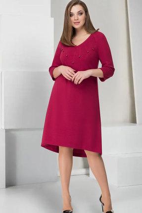 Купить Платье ТАиЕР 744 марсала, Платья, 744, марсала, Вискоза 85%, Полиэстер 11%, Эластан 4%, Мультисезон