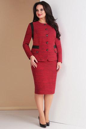 Комплект юбочный Ксения Стиль 1601 красный