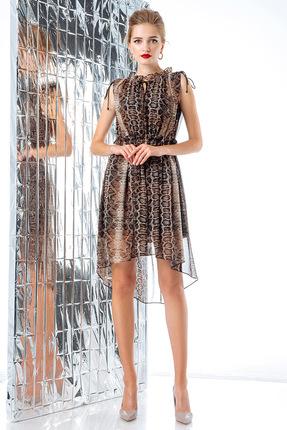 Купить Платье Gizart 7078л леопард, Платья, 7078л, леопард, Полиэстер 100%, Мультисезон