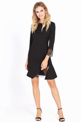 Купить Платье PIRS 563 черный, Платья, 563, черный, Состав: 80% полиэстер 20% вискоза, Мультисезон