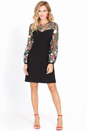 Купить Платье PIRS 564 черный, Платья, 564, черный, Состав: 80% полиэстер 20% вискоза, Мультисезон
