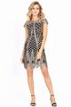Платье PIRS 572 бежевые тона, размер 42-52