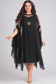 Комплект плательный Andrea Style 00128 черный