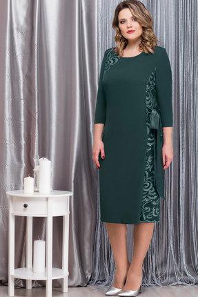 Купить Платье Nadin-N 1593.1 зелёный, Вечерние платья, 1593.1, зелёный, ПЭ 74%, Вискоза 23%, ПУ 3%, Мультисезон