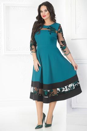 Купить Платье Лилиана 695 морская волна, Платья, 695, морская волна, уточняется, Мультисезон