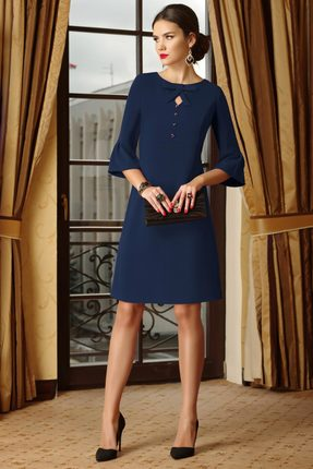 Платье Lissana 3282 синий