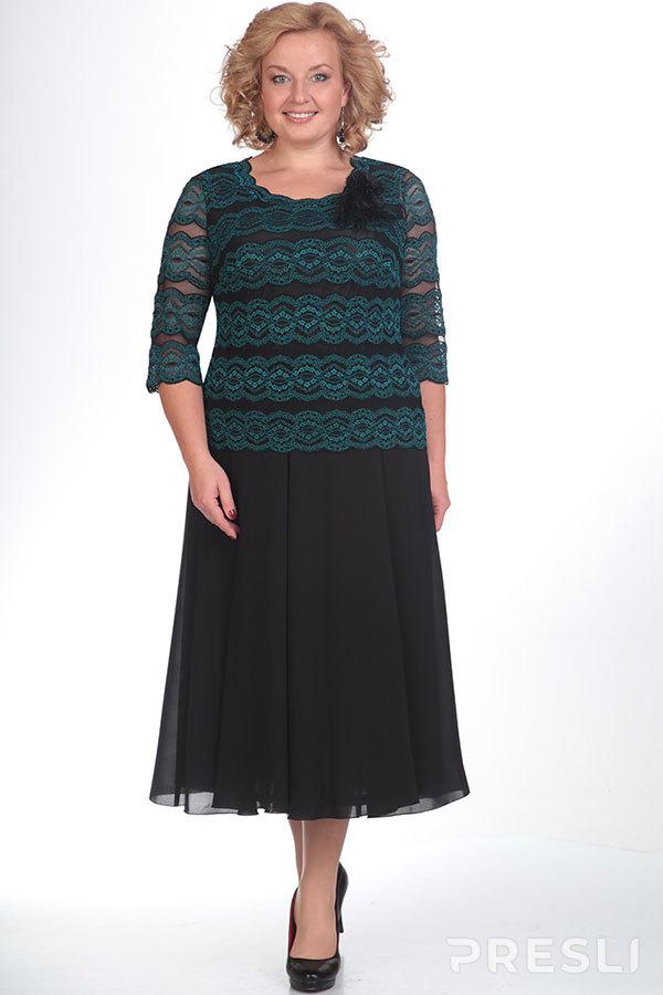 Платье ТАиЕР 427S зелёный