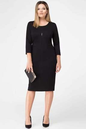 Купить Платье Panda 416280 черный, Платья, 416280, черный, Вискоза 72%; нейлон 23%; эластан 5%, Мультисезон