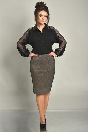 Купить со скидкой Блузка Solomeya Lux 537 черный